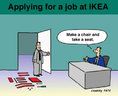 Ikea Job Interview Comic